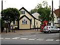 TL8344 : Foxearth Village Hall & Foxearth George V Postbox by Geographer