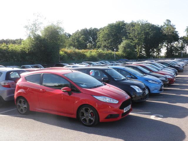 Cophall Farm Parking