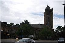 TQ1779 : Church of St Mary, Ealing by N Chadwick