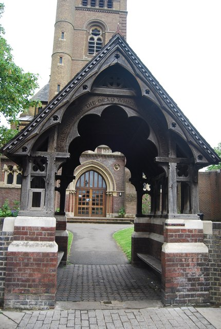 Lych gate, Church of St Mary