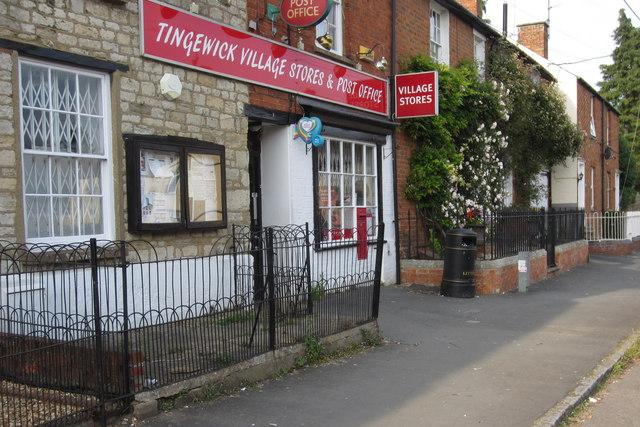 Tingewick Village shop