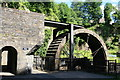 SS7799 : Waterwheel - Aberdulais Falls by Chris Allen