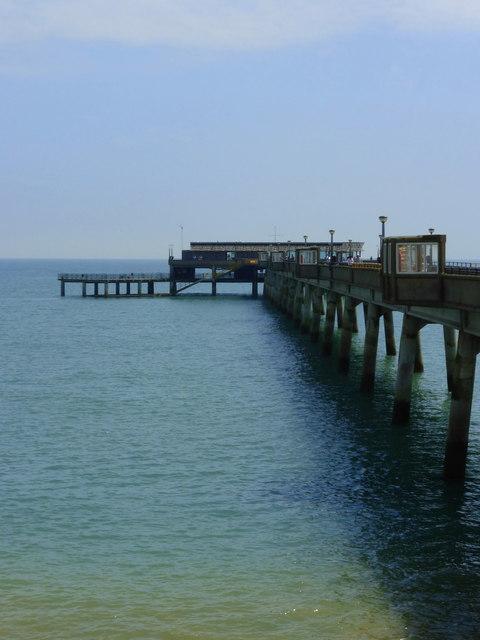 The pier, Deal