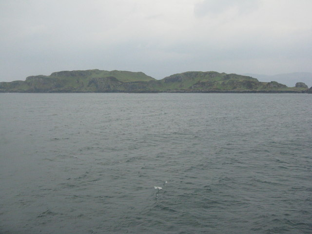 Insh Island in the Firth of Lorn
