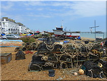 TR3752 : Beach scene at Deal by pam fray