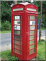 TM2677 : Former Telephone Box by Keith Evans