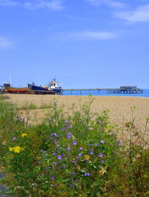 The beach at Deal