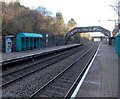 ST1477 : Two bridges viewed from Fairwater railway station, Cardiff by Jaggery