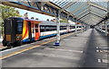 SY6779 : South West Trains multiple unit in Weymouth station by Jaggery