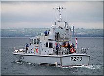 J5082 : HMS 'Pursuer' off Bangor by Rossographer