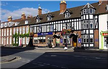 SO8455 : The Talbot (1), 8-10 Barbourne Road, Worcester by P L Chadwick