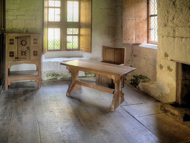 Reconstructed Monk's Cell, Mount Grace Priory