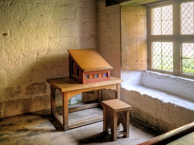 Reconstruction of a Carthusian Monk's Cell, Mount Grace Priory