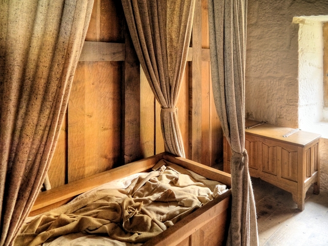 Sleeping Quarters, Carthusian Monk's Cell at Mount Grace Priory