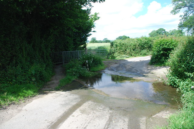 Ford at Upper Hengoed