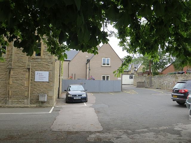 Former school by Richard Webb