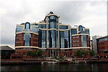 SJ8097 : The Victoria Building, Salford Quays by Graham Hogg