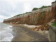 TF6741 : Hunstanton Cliffs by G Laird