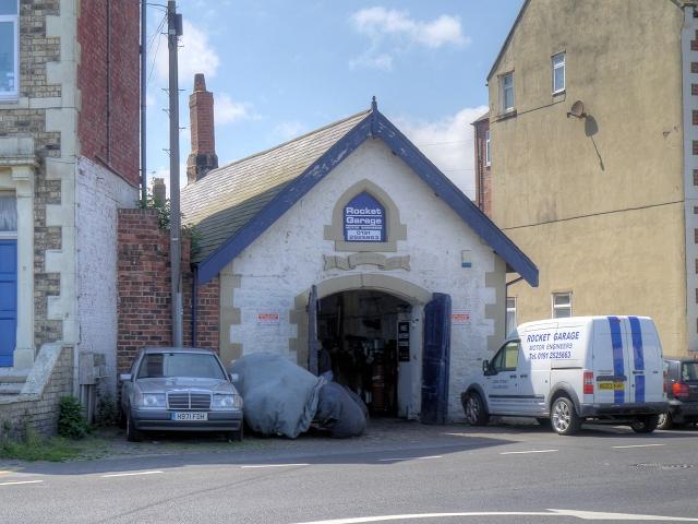 Life Brigade House (Rocket Garage), Cullercoats