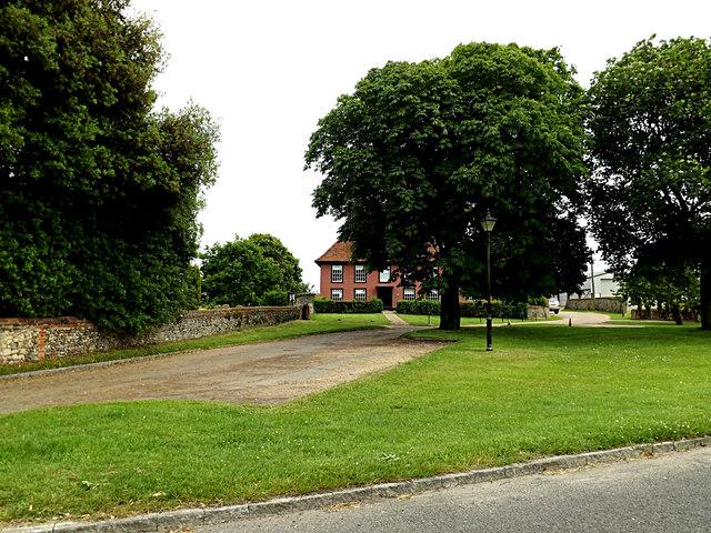Looking towards Park Farmhouse