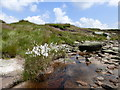 SK0889 : Stream above Kinder Downfall by Graham Hogg