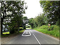 TL8448 : Entering Stanstead on the B1066 Lower Street by Adrian Cable