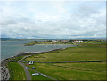 NU1341 : View from Lindisfarne Castle by Eva Dean