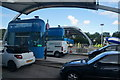 TA0225 : New toll booths at the Humber Bridge by Ian S