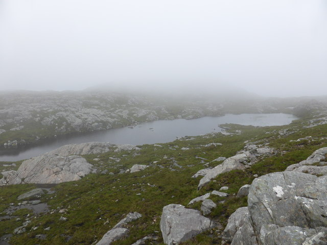 Lochan at cloud base