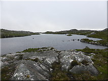 NC1821 : Evening at a remote lochan by Sally