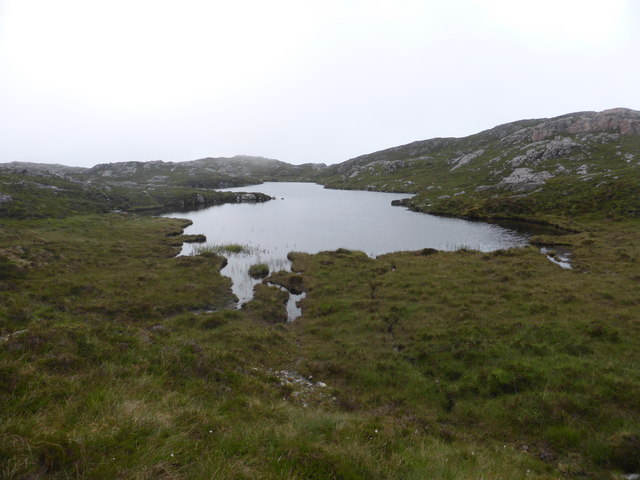 East bay of a remote lochan
