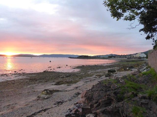Sunset at Fairlie Beach