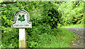 J3670 : National Trust sign, Cregagh Glen, Belfast by Albert Bridge