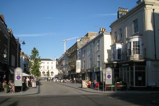 Oxford Street, Southampton, 7-30 pm