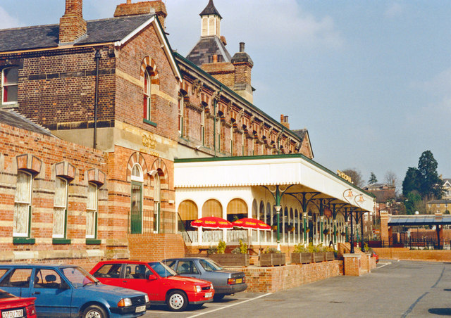 Tunbridge Wells West: former Station, in 1991 a restaurant