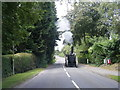 SJ7670 : Traction engine on Main Road, Goostrey by Colin Pyle
