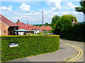 SU9850 : Looking over the hedge at the west end of Firsway by Shazz