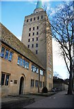 SP5106 : Tower, Nuffield College by N Chadwick