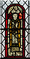 SK2634 : Stained glass window, All Saints' church, Dalbury by J.Hannan-Briggs