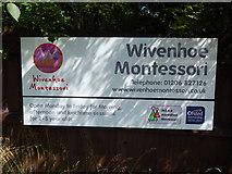 TM0321 : Montessori nursery sign by Hamish Griffin