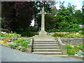 SE0426 : War Memorial, Luddenden by Humphrey Bolton