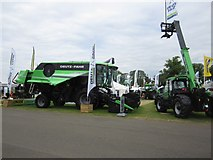 NT1472 : Machinery on display at the 2014 Royal Highland Show by Graham Robson