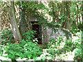 TM3294 : Entrance of an air raid shelter by Evelyn Simak