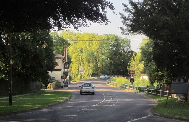 A354 at Coombe Bissett