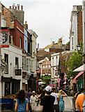 TQ8209 : George Street, Hastings by Julian P Guffogg