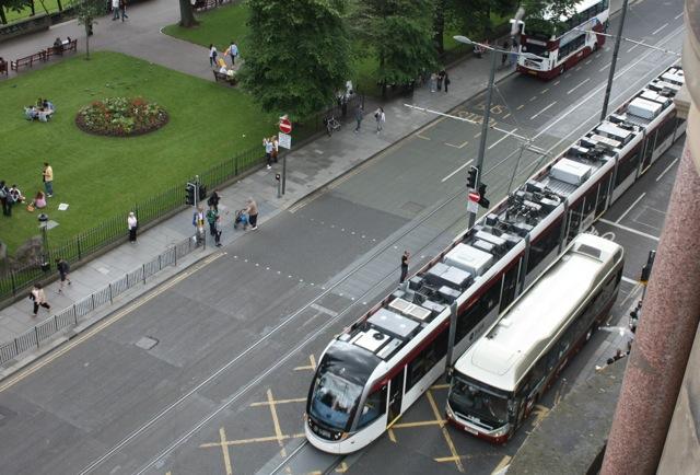Edinburgh Tram 271 on Princes Street