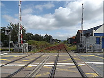 SH5639 : Porthmadog mainline station (eastwards) by Richard Hoare