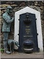 NX9717 : Victorian drinking fountain, Whitehaven by Jim Osley
