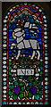 TQ7808 : Stained glass window,St Ethelburga's church, St Leonards on Sea by Julian P Guffogg