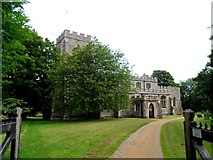 TL4731 : Church of St Mary and St Clement Clavering by Bikeboy